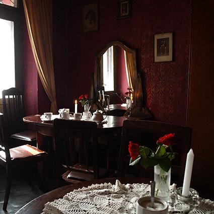 Kafé i Krakow - Eva Aalmo Bertelsen